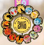 Full Moon 13 Mile Running and Walking Challenge registration logo