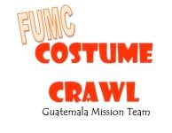 FUMC Costume Crawl registration logo