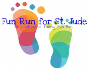 Fun Run for St. Jude - Wausau WI registration logo