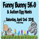 Funny Bunny 5K-9 registration logo