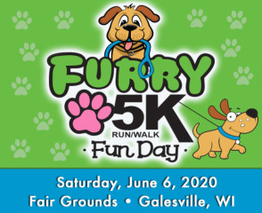 Furry 5K Run/Walk Fun Day registration logo