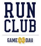 Game Day Run Club-Navy registration logo