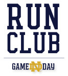 Game Day Run Club-Navy registration logo