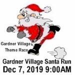 Gardner Village Santa Run - West Jordan registration logo