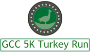 GCC 5K Turkey Run registration logo