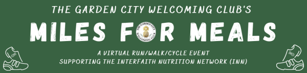 GCWC Miles for Meals Virtual Run/Walk/Cycle Event registration logo