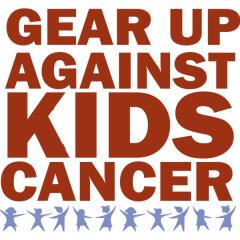 Gear Up Against Kids Cancer registration logo