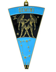 Gemini - Zodiac Series 1M 5K 10K 13.1 26.2 50K 50M 100K 100M registration logo