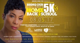 Genise Shelton Presents Bring Our Children Home 5k & Family Fun Day registration logo