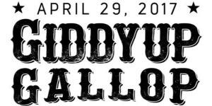 Giddyup Gallop Half Marathon & 5K registration logo