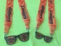 Gilbert Virtual Half Marathon registration logo