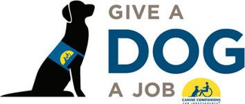 Give A Dog A Job 5k run/walk registration logo