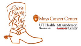 Give Cancer the Boot Fun Run/Walk registration logo
