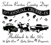 GLO into the 50s registration logo