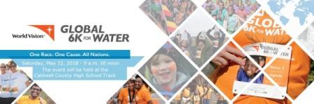 Global 6k for Water - Princeton registration logo