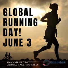 Global Running Day Virtual Race registration logo