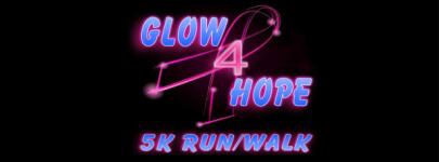 Glow 4 Hope 5K registration logo
