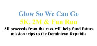 Glow So We Can Go 5K Glow Run and 2 Mile Walk registration logo