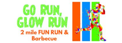 Go Run, Glow Run registration logo
