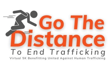 Go the Distance to End Trafficking Virtual 5K registration logo