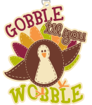 Gobble Til You Wobble 1 Mile, 5K, 10K, 13.1, 26.2 registration logo