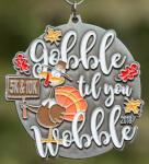 Gobble Til You Wobble 5K/10K registration logo