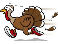 Gobble Wobble 5K - Laramie Tracc Club registration logo