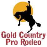 Gold Country Pro Rodeo registration logo