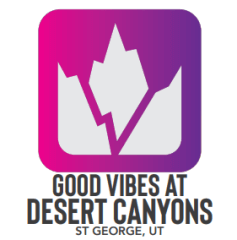 GOOD VIBES at Desert Canyons registration logo