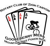 Gooseberry Mesa Poker Ride registration logo