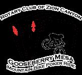 Gooseberry Mesa Poker Ride registration logo