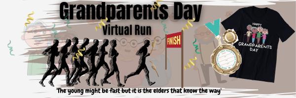 Grandparents Day Virtual Run registration logo
