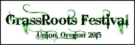 Grassroots 5k Fun Run registration logo