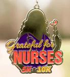 Grateful for Nurses 5K and 10K - Clearance from 2018 registration logo
