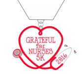 Grateful for Nurses 5K registration logo