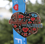 Grateful for Nurses 5K - Thank You Now Only $12 registration logo