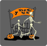 Green County Family YMCA Trick-or-Treat Trail Run 5k registration logo