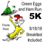 Green Eggs and Ham Run - 5K registration logo