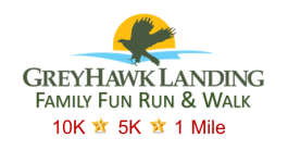 Greyhawk Landing Annual Fun Run registration logo