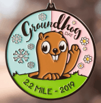 Groundhog Day 2.2 Mile Race registration logo