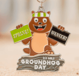 Groundhog Day 2.2 Mile-Clearance from 2018 registration logo