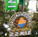 Groundhog Day 2.2 Miler registration logo