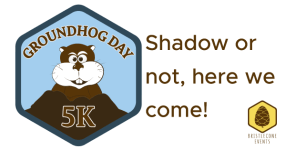 Groundhog Day 5K registration logo