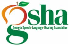 Georgia Speech-Language-Hearing Association Speed for Speech 5k registration logo