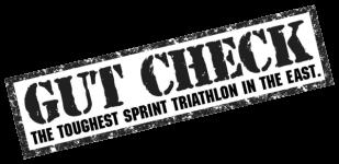 Gut Check Triathlon/Duathlon registration logo