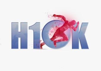H10k Run registration logo