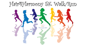 Hair4Harmony 5K Walk / Run registration logo