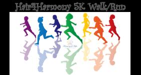 Hair4Harmony 5K Walk / Run registration logo