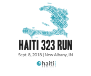 Haiti 323 Run registration logo