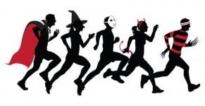Halloween 5k Fun Run for Greece Trip registration logo